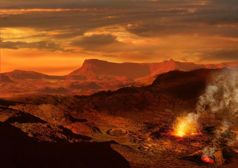 Venus: Crushing pressure, sulfuric acid rain, 700-degree temperatures. If you want to see Venus' towering Maxwell Mountains you better look fast — because it'd be a race to see whether you'd be crushed, incinerated or dissolved first.