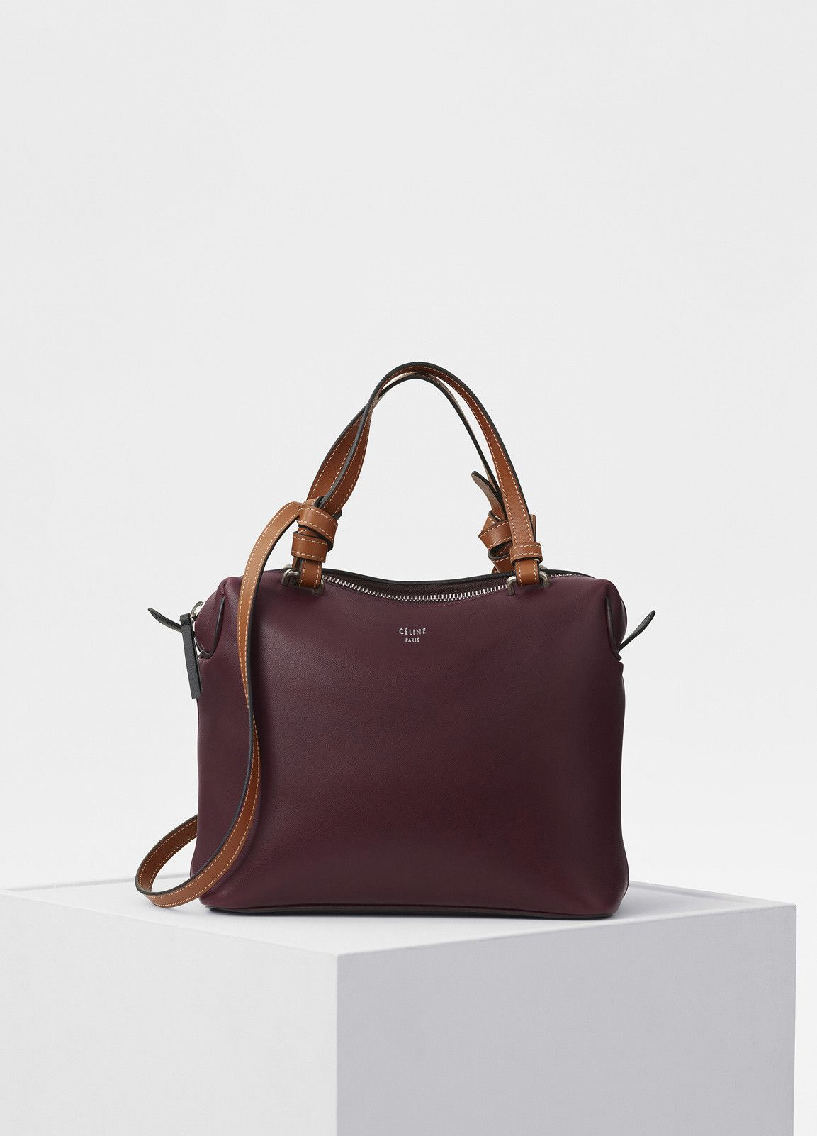 Small Soft Cube Bag in Smooth Calfskin - Fall   Winter Collection 2017  49182da249979