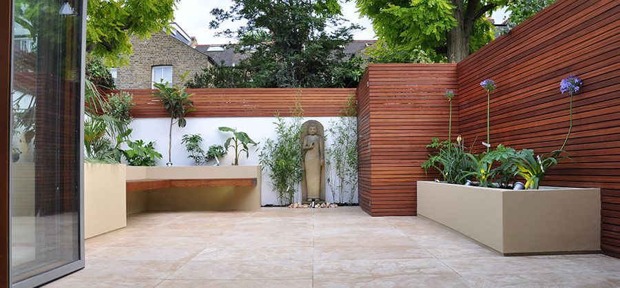 Beautiful tranquil space outside Garden design Pinterest Low