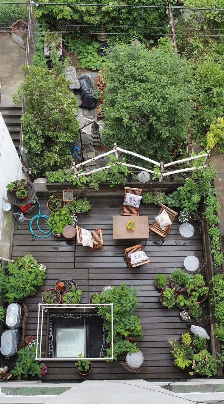 Home Terrace Garden Inspirations Rooftop garden, Terrace