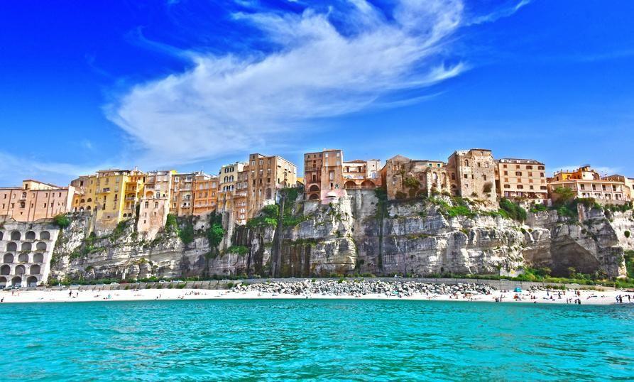 Tropea Der Ort Mit Dem Wohl Schonsten Blick Auf Das Mittelmeer