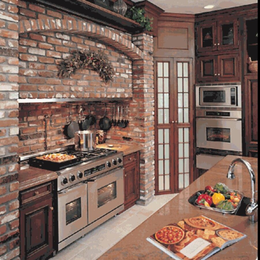 Exposed Brick Kitchen 25 Exposed Brick Wall Designs Defining One Of Latest Trends In