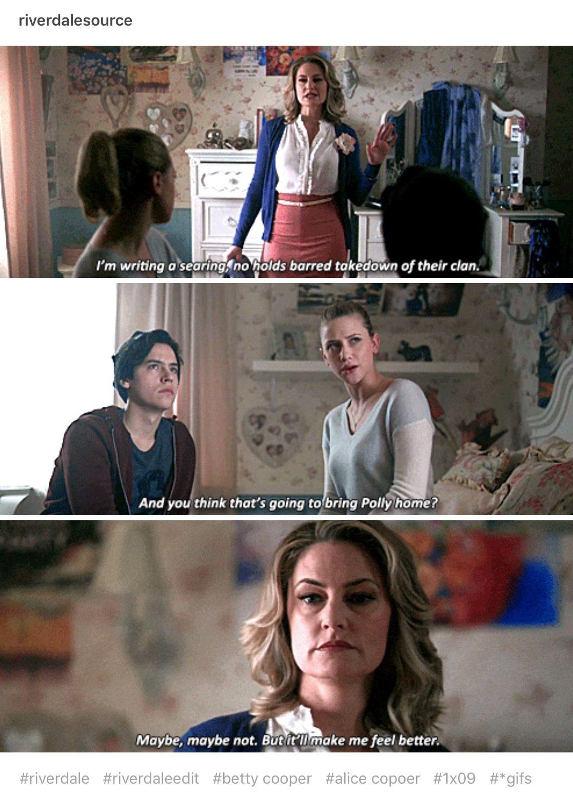 I Loved That Last Line Favorite Alice Cooper Moments Riverdale
