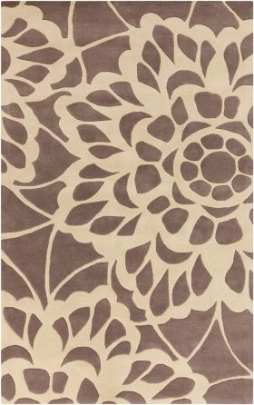 Surya Lace LCE-908 Dark Taupe, Blond Area Rugs