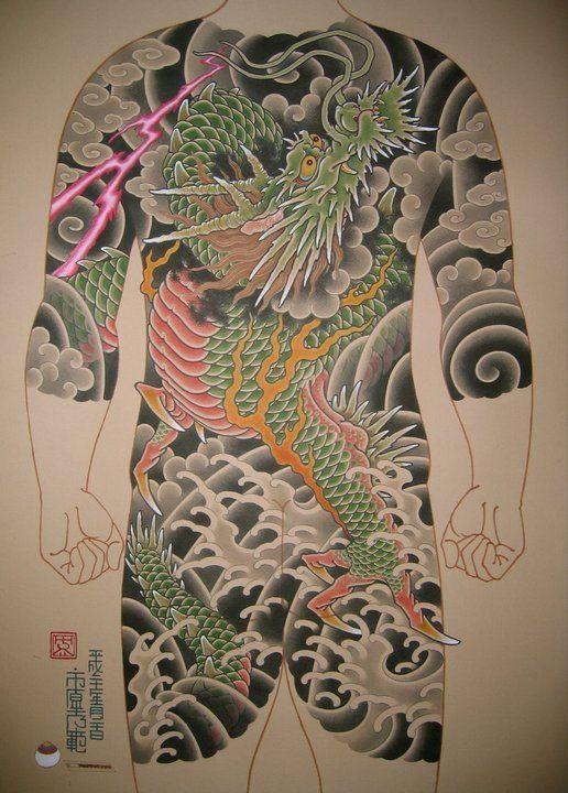 Artist Ichibay Japanese Tattoo Japanese Art Japanese Dragon Tattoos