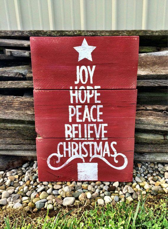 Christmas Sign Christmas Decor Christmas Pallet by ...