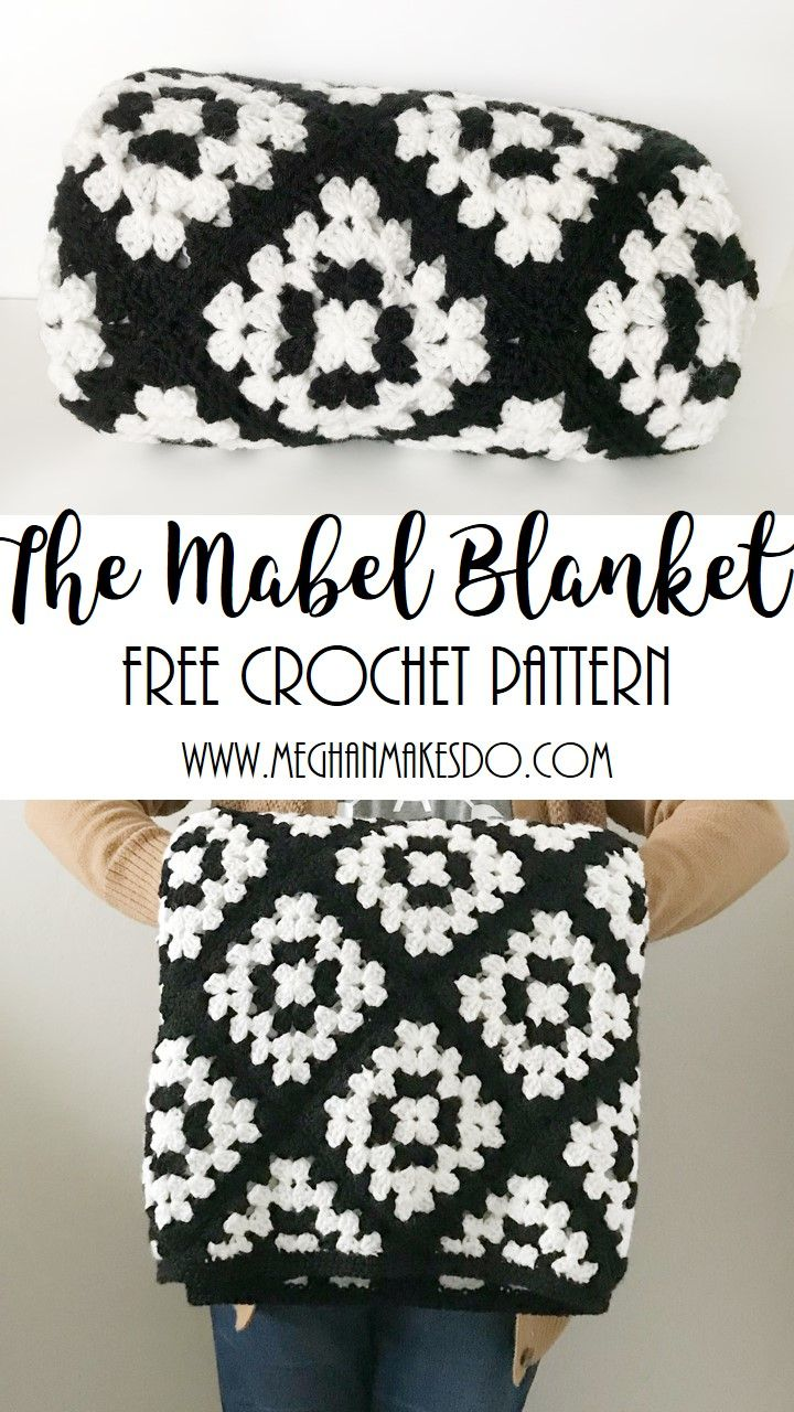 Mar 9 The Mabel Blanket-Free Crochet Pattern | Knitting | Pinterest ...