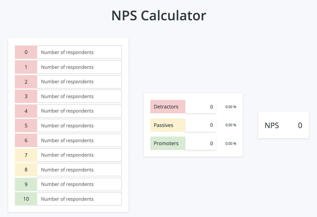 How To Calculate Your Net Promoter Score Web Analytics Tools Web Analytics Calculator
