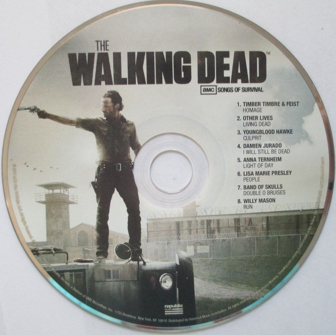 Music Portal The Walking Dead Music The Walking Dead Tv