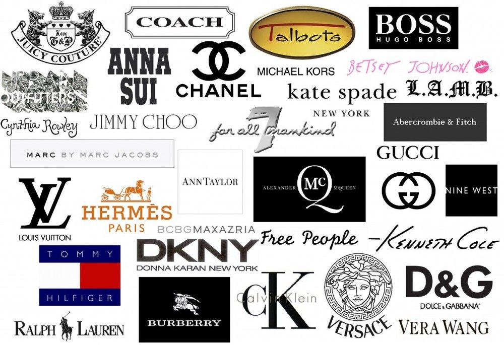 fashion designers top fashion designers and brands best new york designers designer-logos-1024x701.jpg 1,000×685 pixels Private Label, Sport Fashion