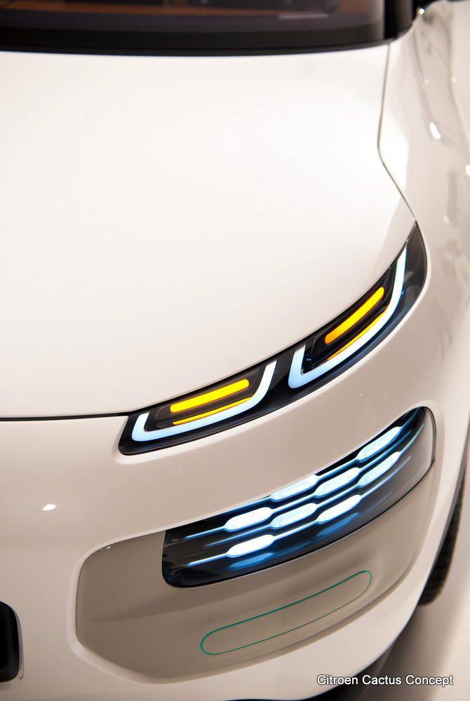 Automotive Trend Headlights 2013 Citroen Cactus Concept