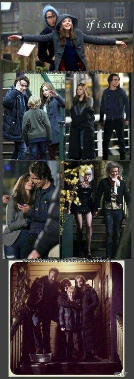 If I Stay Love Mia And Adam Si Je Reste Pinterest Si Je Reste