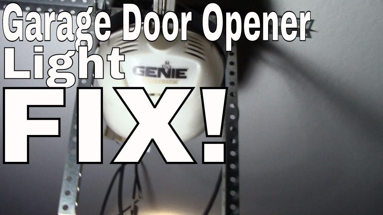 Light Bulb For Liftmaster Garage Door Opener