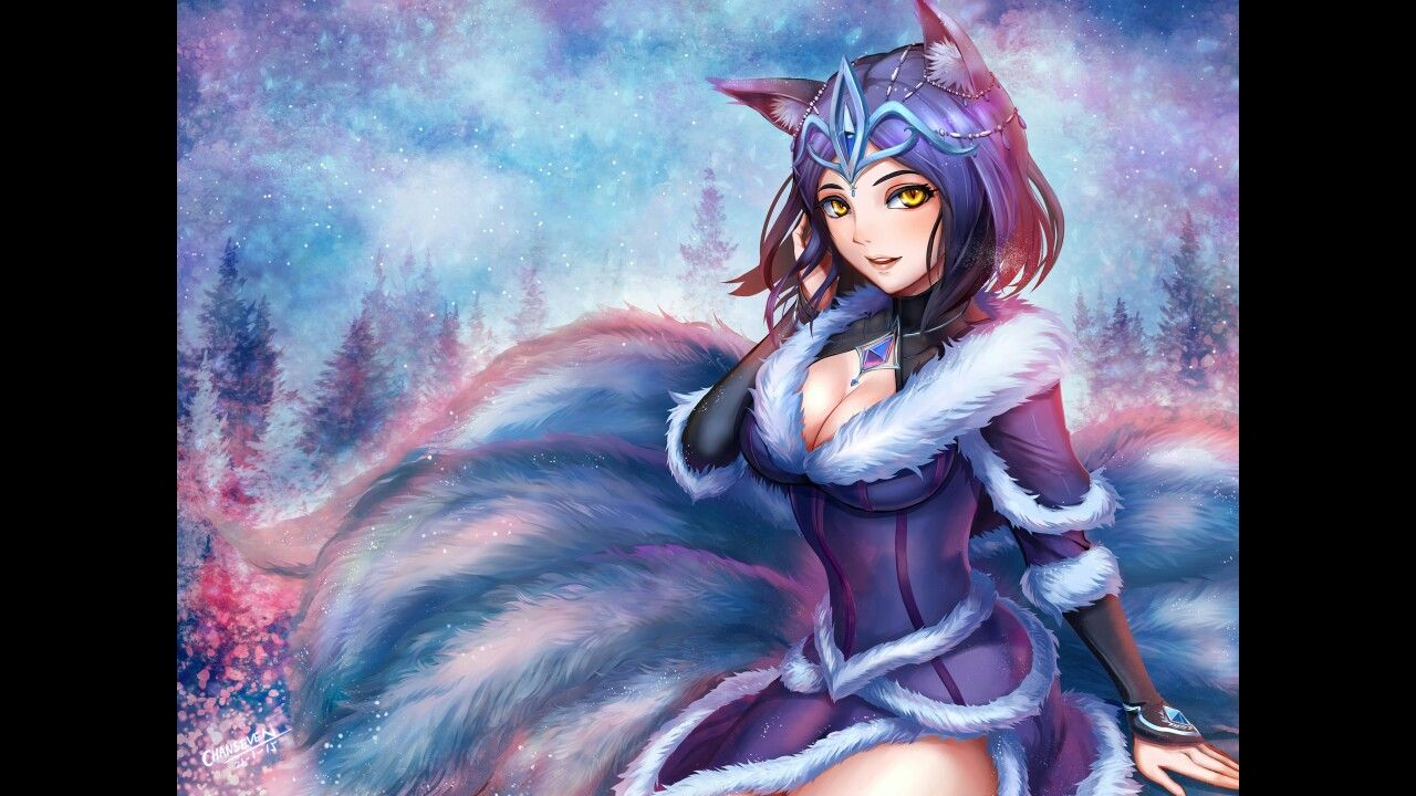 Pin by Dave Secrest on foxes Anime wolf girl, Anime