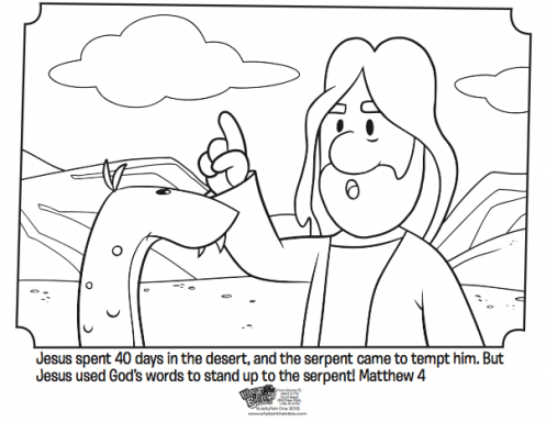 Kids coloring page from What\'s in the Bible? showing Jesus being ...