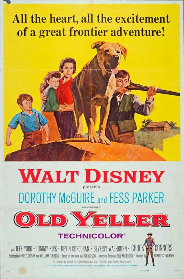 Old yeller 1957 old yeller walt disney movies disney