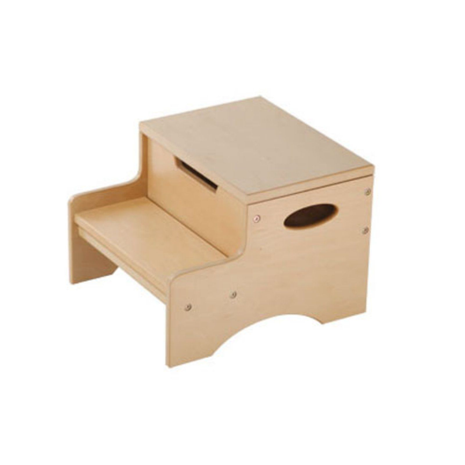 Natural 15511 KidKraft Two-Step Stool Step Stools Indoor Furniture ...