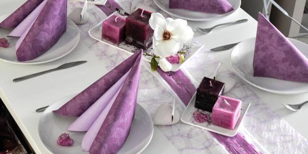 tischdeko zur kommunion konfirmation flieder wei mit magnolie wedding ideas pinterest. Black Bedroom Furniture Sets. Home Design Ideas