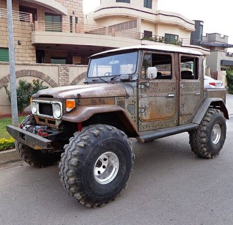 toyota fj45 doublecab Fj40, Offroad vehicles, Toyota