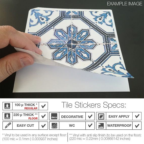 Spanish Tiles Flooring Floor Tiles Floor Vinyl Tile Stickers