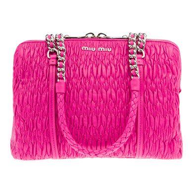 desperately want.  Miu Miu cloquet napa leather