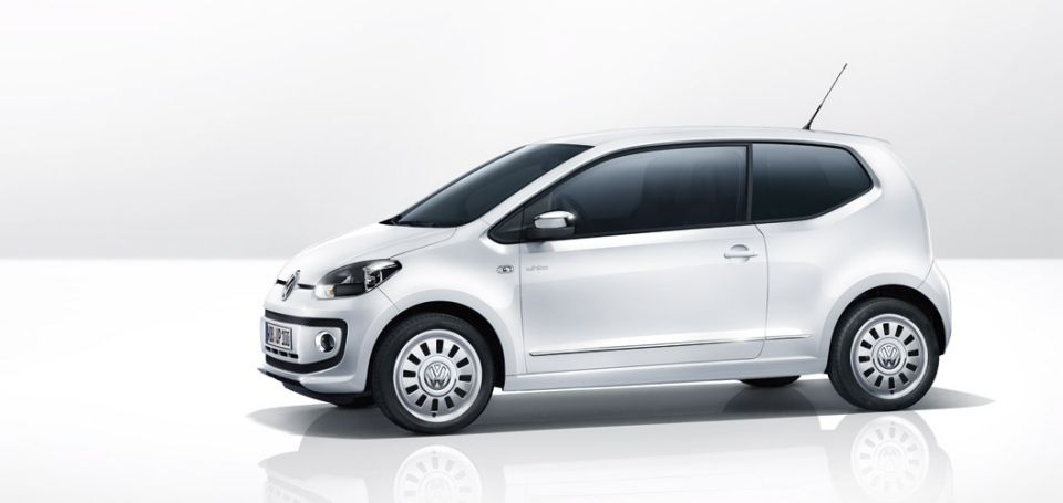 Volkswagen Up - #volkswagen #up #vw #volkswagenup #theup #VolkswagenPoznan #smallcar #citycar #car #cars #white #whitecar