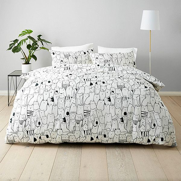 Kitty Quilt Cover Set Target Australia ($15) ❤ liked on Polyvore ... : target bedding quilts - Adamdwight.com