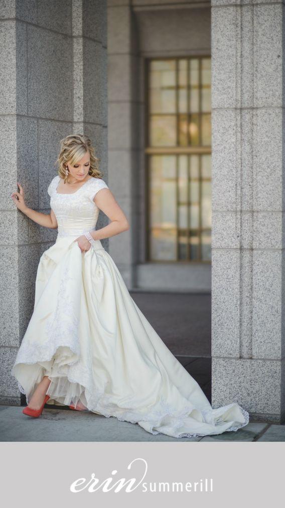 Tim and Aleisha | Draper LDS Temple | Utah Wedding Photographer ...