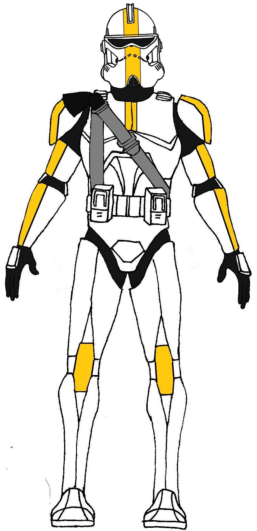 Clone Trooper 182nd Legion | Clone Wars TV Show Units by Timothy ...