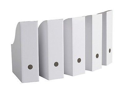 Details about IKEA Magazine Storage Holder File White New 5
