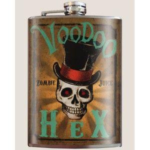 http://purpleleopardboutique.com/644-1462-thickbox/stainless-steel-flask-voodoo-hex-skull.jpg Voodoo hex skull stainless steel flask.
