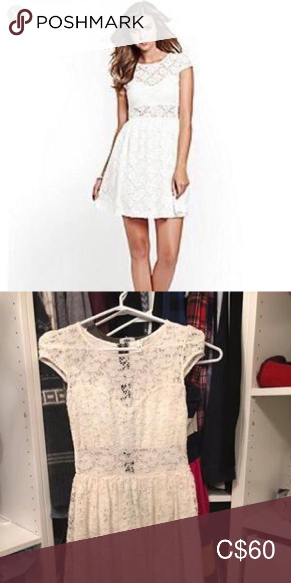Guess lace dress #dressesforengagementparty