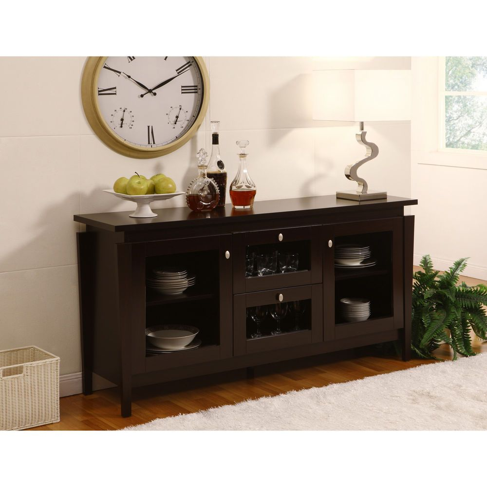 Dining Room Sideboards And Buffets: Buffet Cabinet Sideboard Buffet Credenza Dining Room
