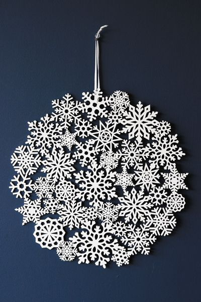Large Wooden Snowflake Decoration Christmas Inspirations