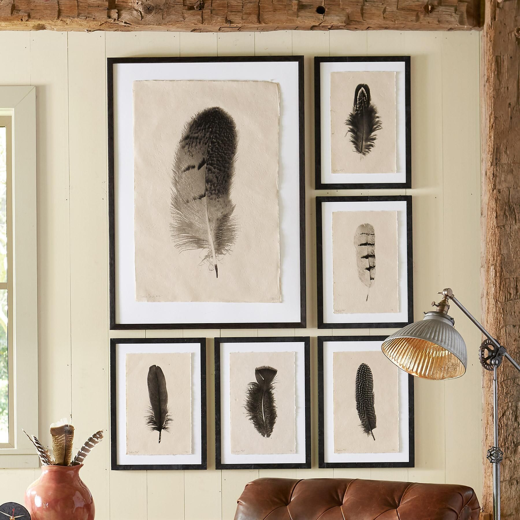 FEATHER STUDIES PRINT -- Father and son photographers, each ...