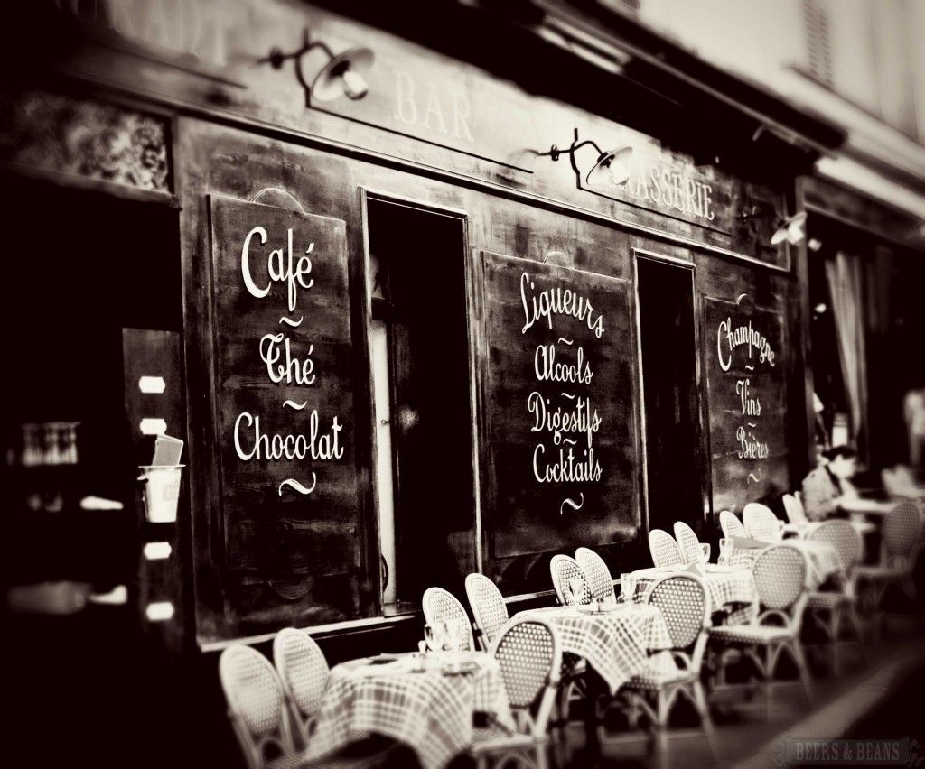 The perfect cafe in Paris>>>I really need to spend the rest of my life in Paris!