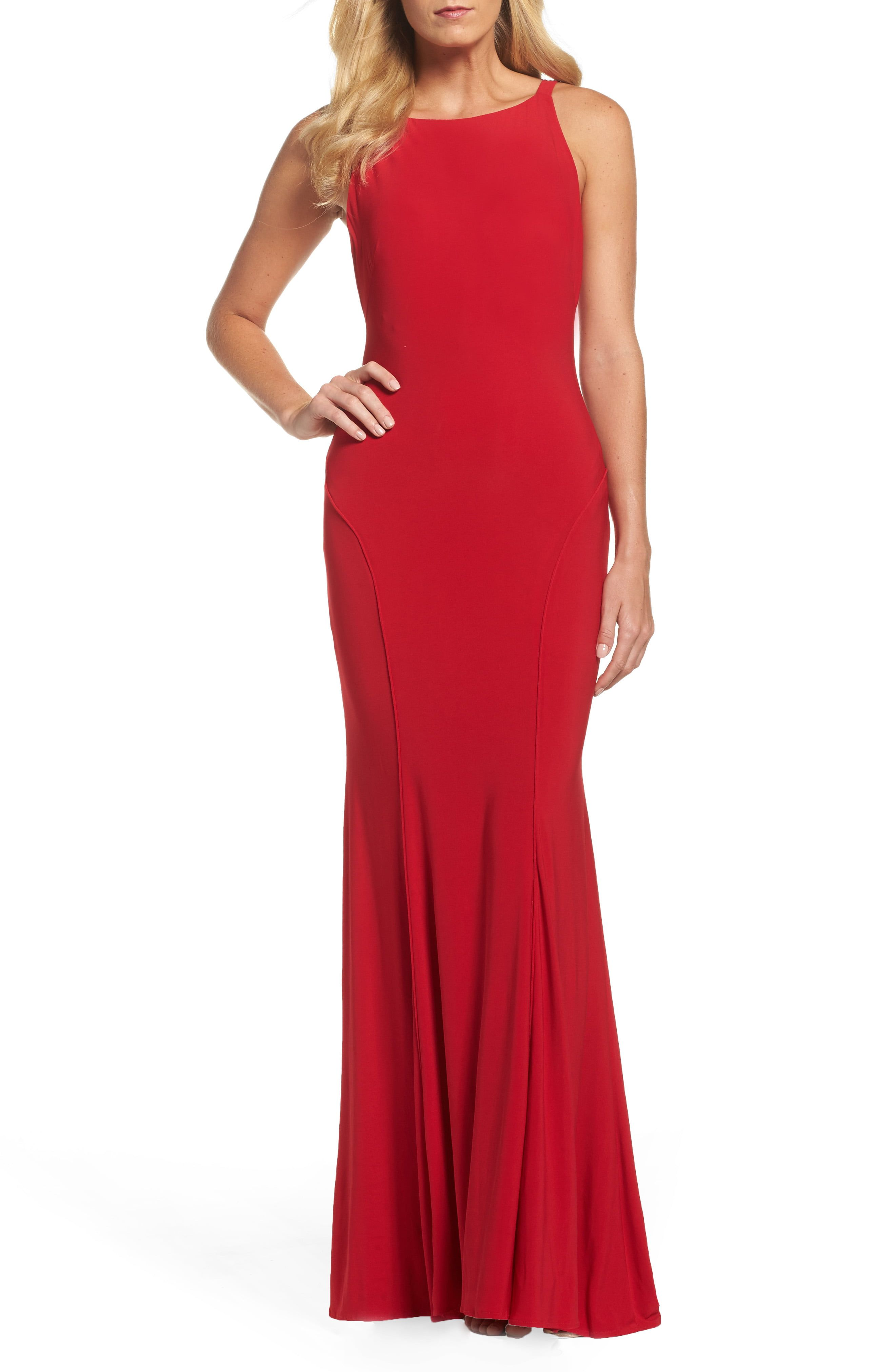 Ieena For Mac Duggal Low Back Sleeveless Trumpet Gown Nordstrom Rack In 2021 Red Dress Maxi Red Evening Dress Red Evening Gowns [ 4048 x 2640 Pixel ]