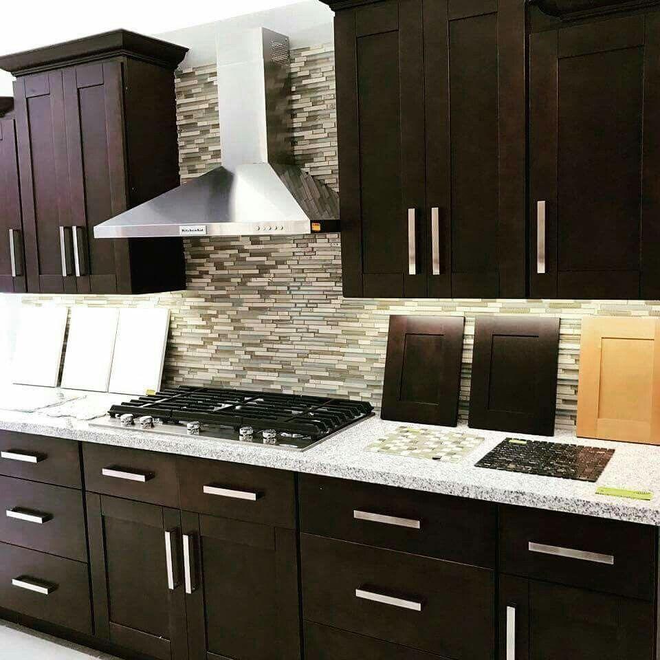 Espresso Chocolate Kitchen Cabinets Kitchen Cabinets Home Decor Kitchen Kitchen