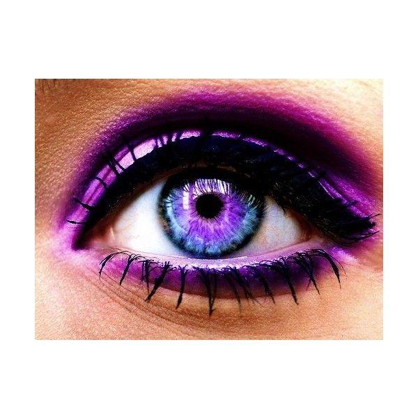 Purples / purple eye via Polyvore