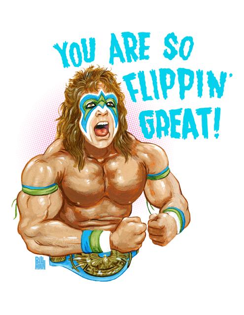 Bill Main Illustration Ultimate Warrior Happy Birthday Cards Happy Birthday Google
