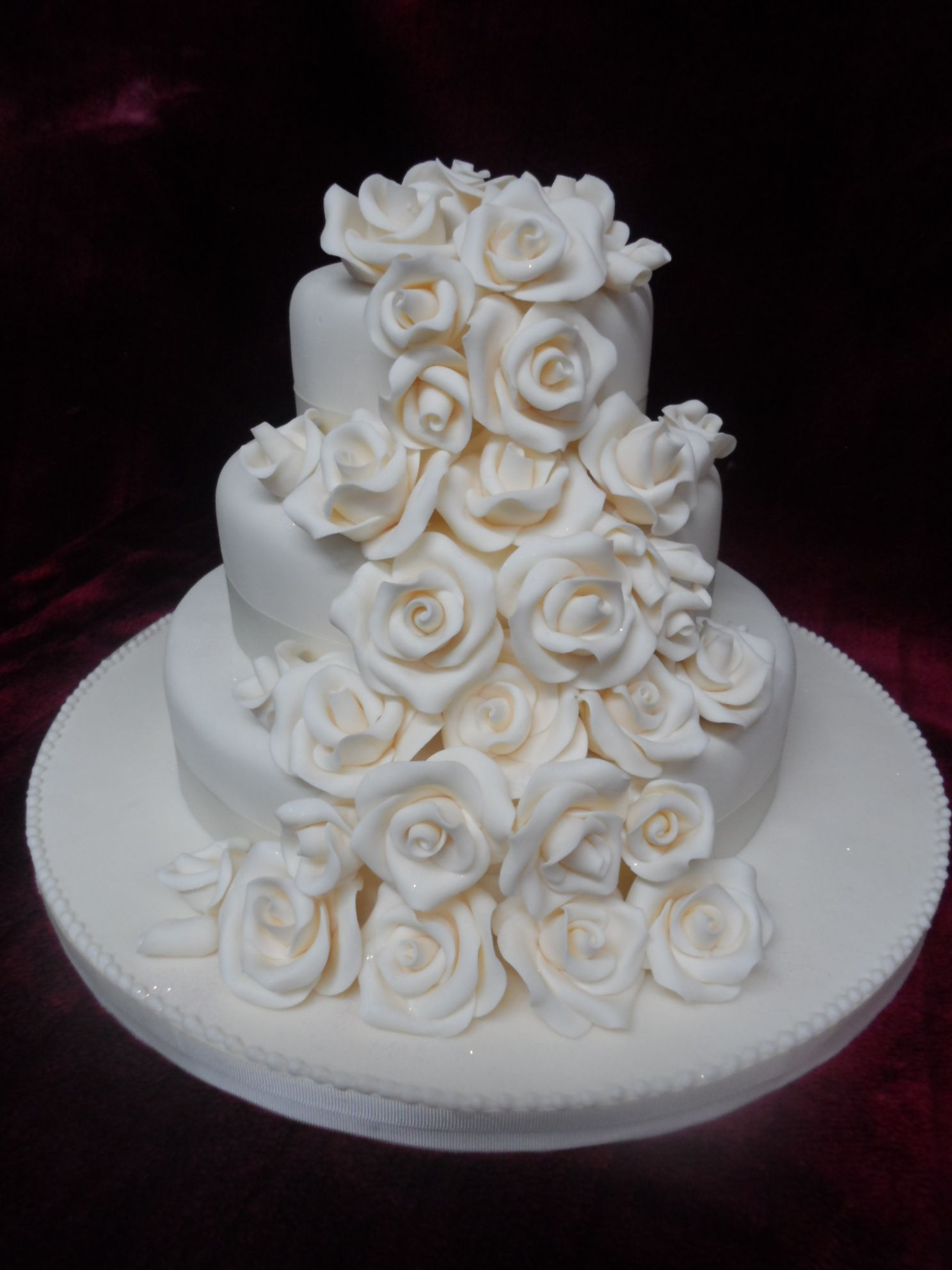 3 Tier Square Wedding Cake Fresco Woosh Co Nz Email