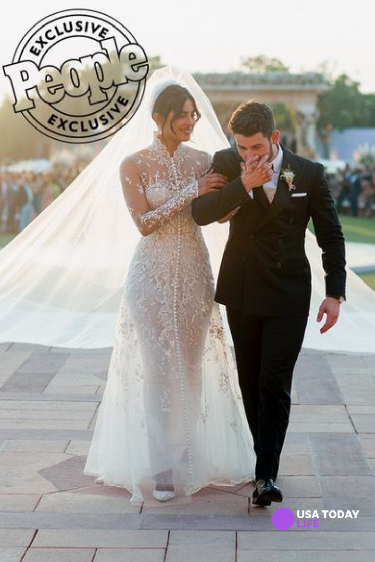 See Priyanka Chopra S Stunning Ralph Lauren Wedding Dress With A