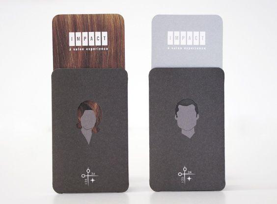 Impact Salon, Creative Business  Card Design by Creative Suitcase