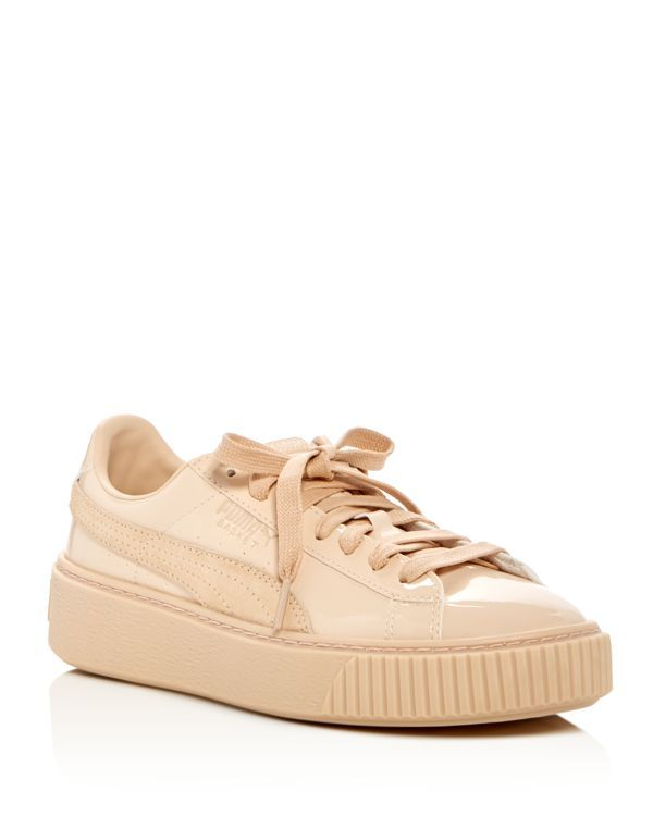 Platform Basket Puma Up Lace Patent Sneakers drsCthQ