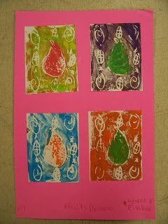 Mrs. Weber's Art Class: 4th grade