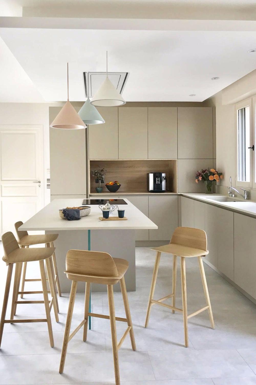 Déco cuisine couleur : des meubles de cuisine colorés  Deco