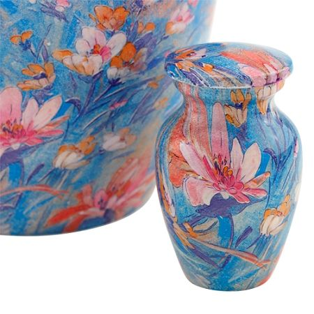 French Garden Keepsake Cremation Urn for Ashes   Available at Stardust Memorials