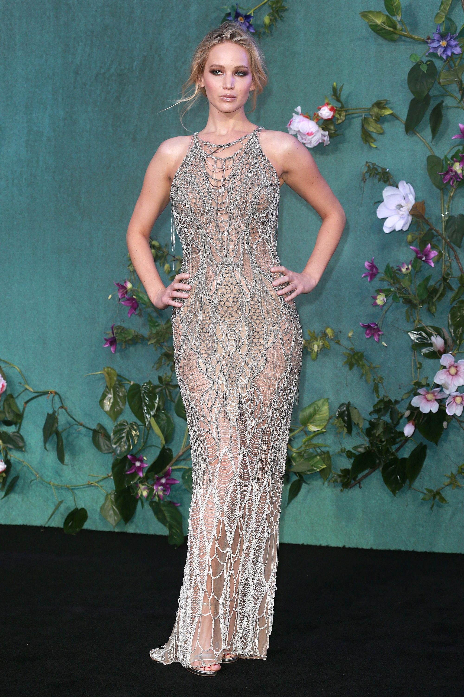 15 of Jennifer Lopezs Best Naked Dresses | Allure