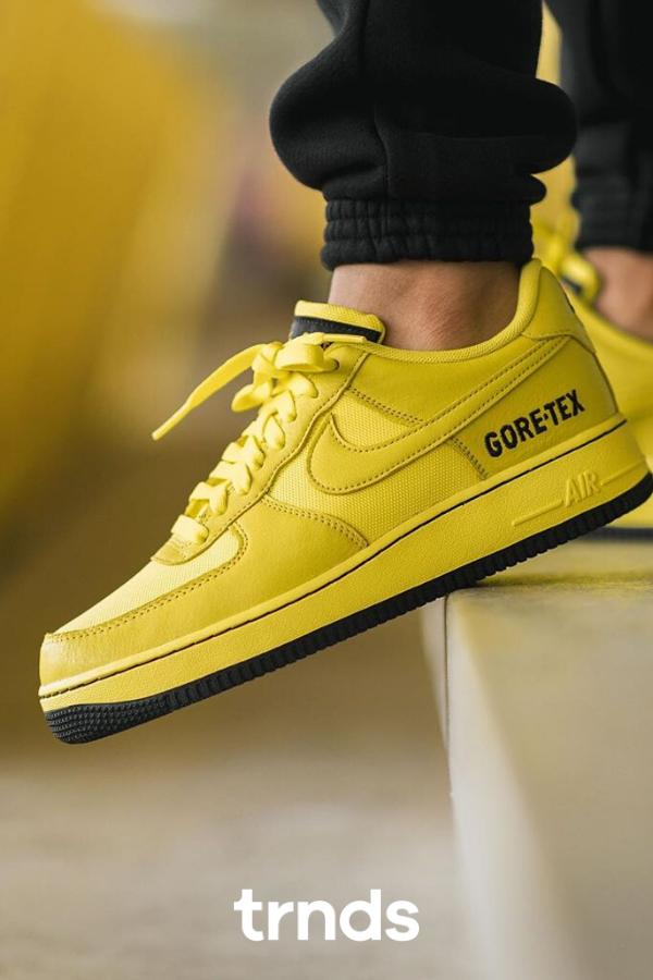 Nike Air Force 1 GORE TEX (yellow black) in 2020   Nike