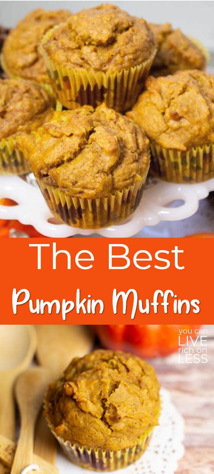 The Best Pumpkin Muffins Ever!